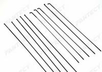 الشحن مجانا sapim cx-ray spokes ، أسود ، blade aero spokes ، 230-310mm ، مع حلمات الألمنيوم حزمة واحدة 12 قطع
