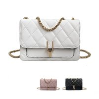 Simple Fashion Plaid PU Leather Small Bag New Handbags Lady ...