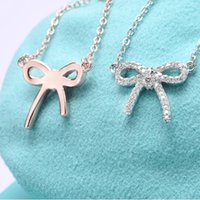 Luxury jewelry S925 silver butterfly necklace Red Heart with...