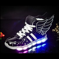 Authentic Wing sneaker air shoe LED charging Luminous Light ...