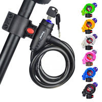 Bike Lock alta seguridad de 5 dígitos combinación reiniciable bobina de cable de bloqueo Mejor acero inoxidable bicicleta de la bici bisiklet aksesuar