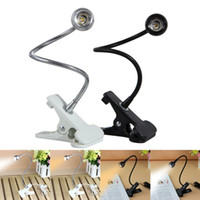 3W USB Rechargeble LED Light Clip on Flexible Reading Bed La...
