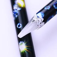 الشمع القلم حجر الراين منتقي الراين ترصيع المنتقى التقاط بسهولة مسمار الفن مانيكير التنقيط أدوات ل 3d مسمار الزينة