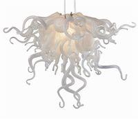 Moderne Blumenform Kristall Kronleuchter Lampen Moderne Pendelleuchten Hand Geblasene Murano Glas Stil Deckenleuchter