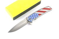 Excellent Pocket Knife Folding Blade Sanding Surface Steel &...