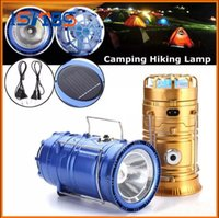 New Fan Rechargeable Solar Powered Camping Light DC charge F...