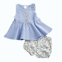 Newborn Baby Kids Fashion Clothing Set Toddler Outfit Summer...