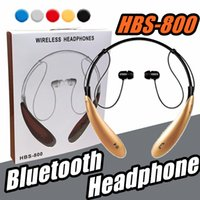 2018 HBS800 Bluetooth Auriculares Auriculares inalámbricos deporte bluetooth 3.0 Auriculares manos libres Auriculares internos para Samsung S8 Note 8 Any Phone