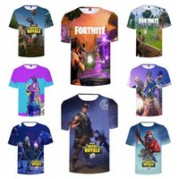 17 Colors Fortnite T- shirt Men' s Summer Cool Print 3D S...