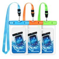 حقيبة هاتف محمول مضادة للماء ، حقيبة هاتف عالمية تحت الحقيبة المائية لجهاز iPhone X / 8 / 8P / 7 / 7P ، Samsung Galaxy S9 / S9P / S8 / S8P / Note 8