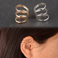 1pcs Fashion hot sale Punk Rock Ear Clip Wrap Cuff Clip on e...