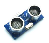50PCS / LOT Modulo ad ultrasuoni HC-SR04 Sensore di trasduttore di misurazione della distanza per 51 / STM32 DC 5V IO Sensore di trigger Moudle HR SR04 Scheda