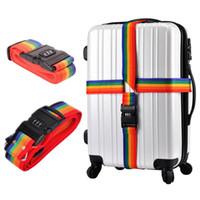 조정 가능한 수화물 스트랩 비밀 번호 잠금 가방 스트랩 퀵 릴리스 여행 액세서리 수하물 가방 벨트 태그 스마트 도구 키트