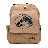 ec8030fb7bea New Arrival. 15inches My Hero Academia Deku Midoriya Izuku Canvas School  Shoulder bags Backpack ...