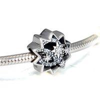 Va bien para pulseras Pandora perlas para la joyería Cuando usted desea sobre una estrella encantos del grano del encanto que hace DIY plata de ley 925 de cuentas