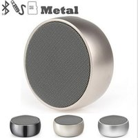 Portable Bluetooth Speaker Mini Metal bass sound bluetooth s...