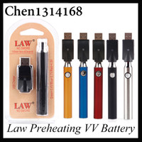 Law Preheat Battery Blister Pack with USB Charger Kit 1100 6...