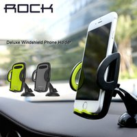 Rock 360 Rotate Adjustable Car Mobile Phone Holder Stand For...