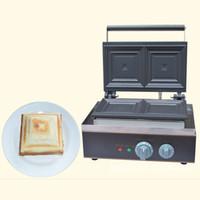 Qihang_top Mutfak ekipmanları ticari 110 V 220 V elektrikli sandviç tost makinesi waffle makinesi makinesi sandviç waffle makinesi fiyat yapma