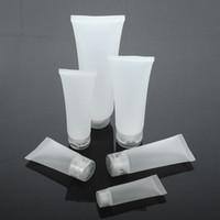 Empty Refillable Translucent Frosted Plastic Travel Cosmetic...