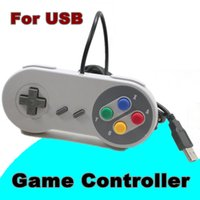 Classique Contrôleur USB Contrôleurs PC Gamepad Joypad Joystick Remplacement Pour Super MINI SFC SNES NES Tablet PC Windows E-JYP