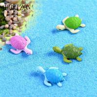 4шт мини черепаха Черепаха миниатюрный Фея сад украшения DIY Кукольный дом террариум микро пейзаж украшения