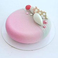 Round Silicone Cake Mould For Mousses Ice Cream Cheesecake D...