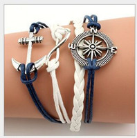 DIY Infinity Charm Bracelets Antique Cross Bracelets Hot sal...
