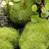 Artificial mini Moss Stones Grass Home Garden Bonsai Decorat...