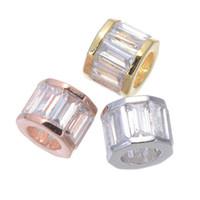 Groothandel handgemaakte diy accessoires benodigdheden voor sieraden grote gat full crystal kralen fit originele armband ketting bevindingen connector kraal