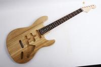 e-gitarre kit zubehör gitarre halskörper 22 fret ash holz für strat