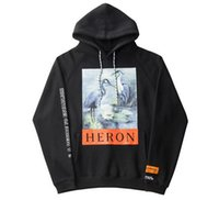 Crane Painting Print Mens Hoodies Women Clothes High Street ...
