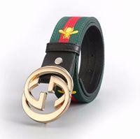 Top qualité ceinture 2018 marque de mode designer en cuir véritable G  boucle de ceinture hommes 0c46bec7b3e