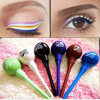 6 color Long- lasting Comestics Waterproof Liquid Eyeliner ma...