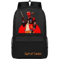 Gulf of tonkin mochila Paquete de día fresco Palabra mochila escolar Mochila de ocio Mochila de calidad Mochila deportiva Mochila al aire libre