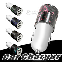 Colored drawing Car Charger 3. 1A Dual USB Port Car Chargers ...