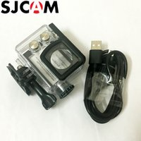 SJCAM Motorcycle Waterproof Case for SJCAM SJ7 Star Charging...