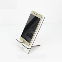 fabrik preis handy mdf steht halter für sublimation DIY leere handy universal rechteck steht Für iPhone für Sumsung