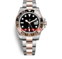 New 126710 126710BLRO black and bronw Bicolor GMT Cerachrom ...