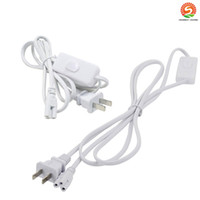 New 6ft Power Cable with switch US Plug for Integrated T8 T5...