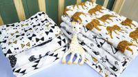 23 Design 2018 INS Fuchs Bär Musselin Decke Aden Anais Handtuch DHL Kinder Wickeldecke Frottee Babydecke TO538