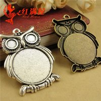 A4229 34*48MM Fit 25MM Wholesale alloy retro metal jewelry a...