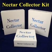 Kit Nectar Collector con olio domeless quarzo Nail titanio chiodo 10 millimetri 14 millimetri 18 millimetri Nector kit collettore rigs mini vetro tubi dell'acqua tubo