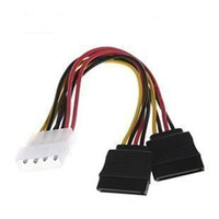 Wholesale- F04227 IDE Molex to 2 Serial ATA SATA Y Splitter ...