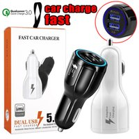 QC3. 0 Fast Charge 3. 1A Quick Charge Car Charger Dual USB Fas...