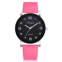 ساعة Lvpai المرأة الأزياء الفاخرة السيدات كوارتز ساعة اليد أعلى ماركة بو الجلود حزام ووتش النساء الساعات reloj