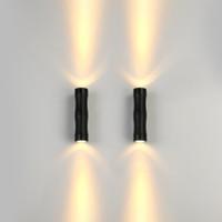 Appliques luce della parete del LED parete 3W all'aperto su giù LED esterna decorativa del giardino LED Lampada moderna LDecoration luce spot 12V 24V impermeabile