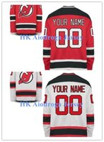 Factory Outlet, Custom pas cher Maillot de Hockey HOCKEY New Jersey Devils Team Classic Jersey de glace sont tous cousus