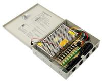 CCTVカメラのためのDC 12V 10A 9chチャネル電源ボックス