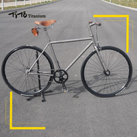 FREE SHIPPING !!! TiTo track and fixed gear single speed bik...